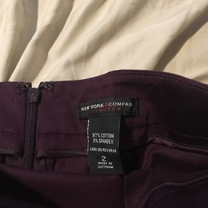 New York & Company Other - Plum matching suit size 2